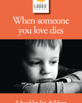 When Someone You Love Dies Booklet