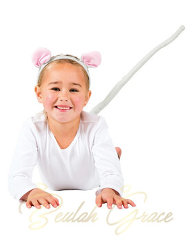 Mouse Headband and Tail Set