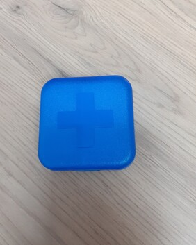 Pill Container 4  compartments