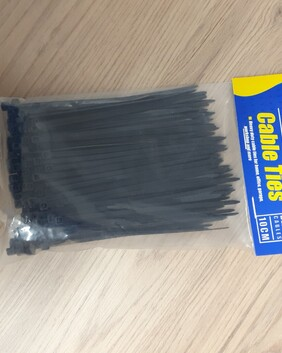Cable Ties 200 Black 10cm
