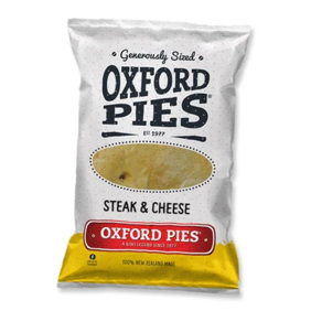 Lunch Pies - Steak & Cheese 220gm - 5 pack