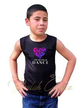 For the Love of Dance Male Tank Top
