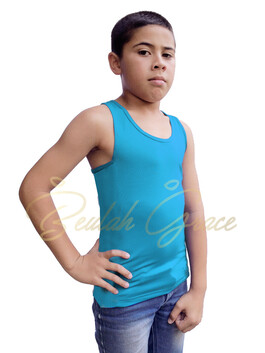 Male Tank Top - Turquoise