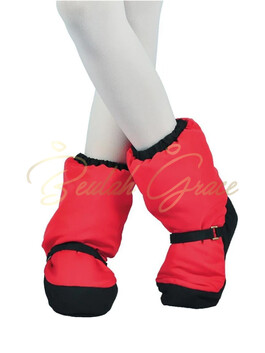 Snuggle Boots- RED