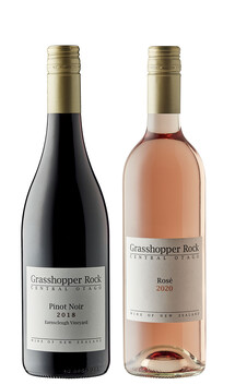 Pinot Noir & Rosé mixed case - 12 bottles. Free NZ delivery