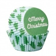Baking Cups Merry Christmas 75