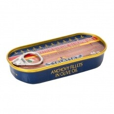 Anchovies In Olive Oil 48g
