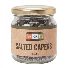 Salted Capers 125g