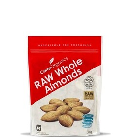 Natural Whole Almonds 250g