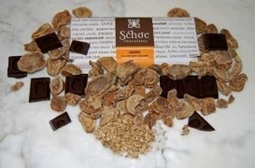 Ginger and Rich Dark Chocolate Tablet 75g