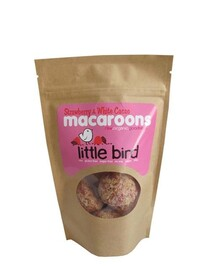 Strawberry & Cacao Macaroons 5pk