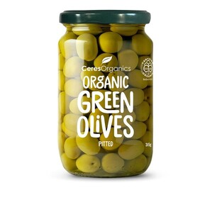 Green Olives Pitted 315g