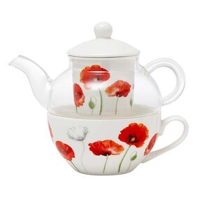 Poppies Tea For One