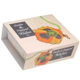 Cheddar Poppy Seed Wafers