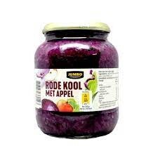 Jumbo Red Cabbage with Apple 680g