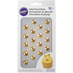 Bumble Bee Royal Icing Decorations 12.6g