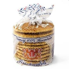 Verwey Syrup Waffles 100% Butter 300g