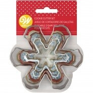 Snowflake Cookie Cutter 3pc.