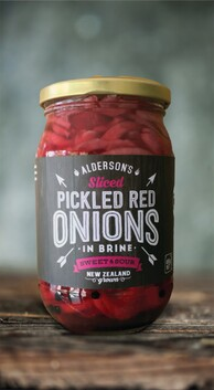 Pickle Red Onion Sweet/Sour 485g