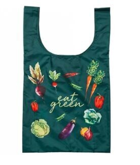 Eco Recycled PET Eat Green Shopping Bag