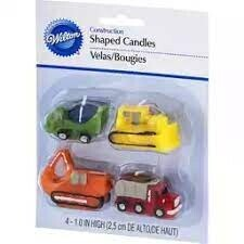 Construction Shaped Candles